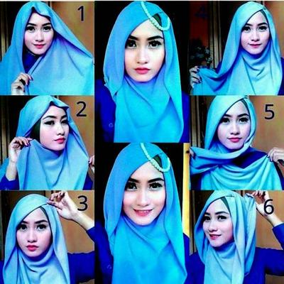 Tutorial Hijab Pashmina Untuk Kondangan Hijab Converse