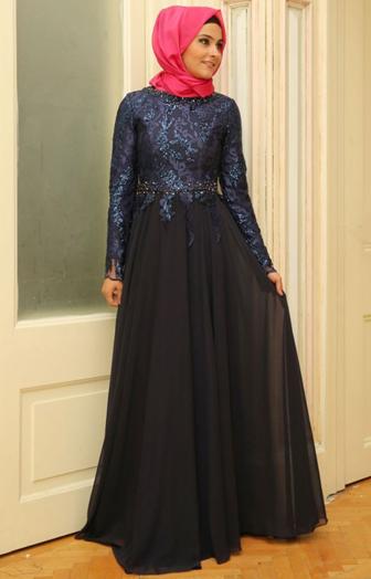 Tips Memilih Gaun Hijab Pesta Yang Cocok Untuk Tubuh Gemuk Muslim