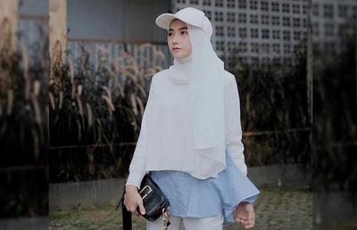 Anti Ribet Ini Inspirasi Padu Padan Outer Hijab Ala Nisa Cookie