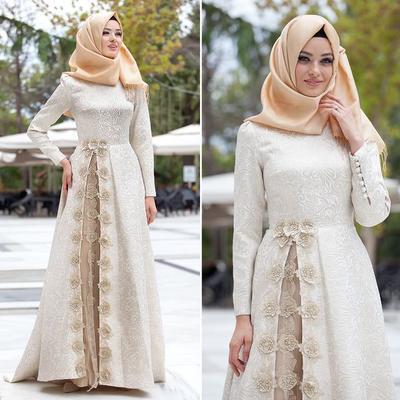 So Chic! Ini 5 Rekomendasi Gaun Hijab Cantik yang Cocok untuk Si Tubuh Gemuk