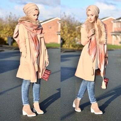 Mix and Match Turban Hijab dengan Gaya Ini untuk Tampil Kece Ala Selebgram Luar Negeri