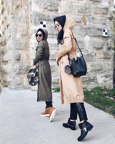 Coat for Hijab Traveler