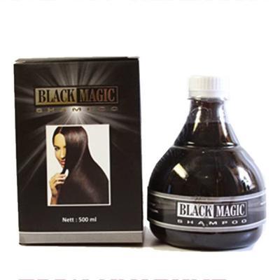 2. Black Magic Kemiri Shampo