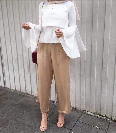 Panduan Mix And Match Celana Kulot Untuk Para Hijabers Bertubuh