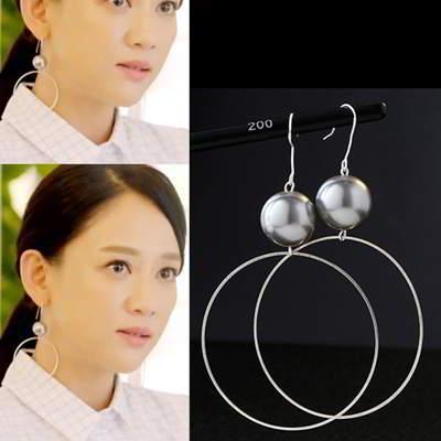 Minimalist Circular Ring Shape Earrings