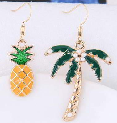 Pineapple Tree Earrings