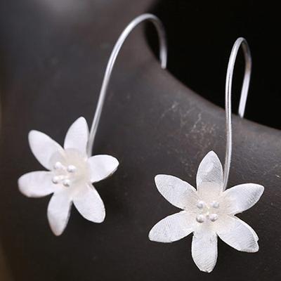 Minimalist Flowers Earrings