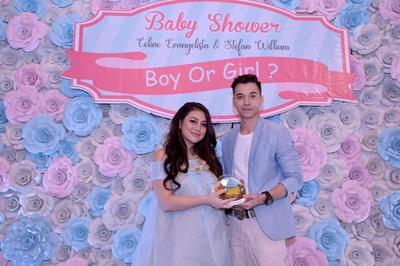 Yuk, Intip Unik dan Mewahnya Acara Baby Shower Celine Evangelista!