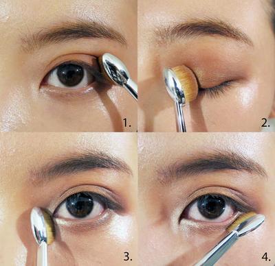 6. Menerapkan Eye Shadow