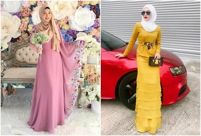 Ini Dia Inspirasi Gaun Cantik untuk Hijabers ala Ayana Jihye Moon