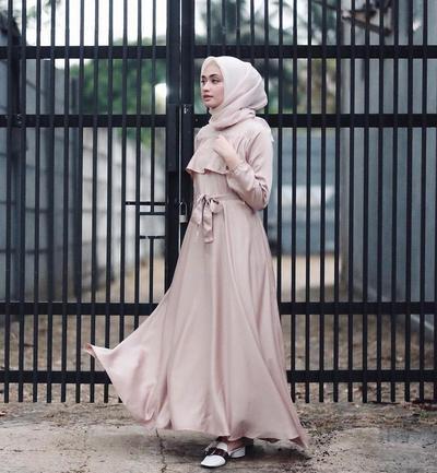 Wow Inspirasi Gaun Pesta Hijab Ala Selebgram Ini Cantik Banget
