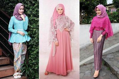 Punya Tubuh Plus Size Ini Model Kebaya Muslim Yang Cocok Buat Kamu