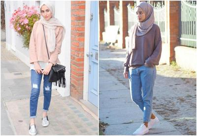 Tips Padu Padan Atasan Dengan Jeans Hijab Yang Bakal Bikin Kamu