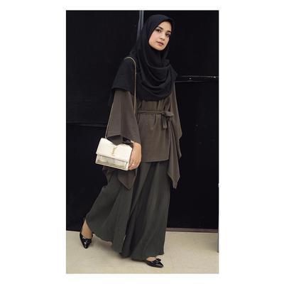 Cantik Dan Menutup Dada 5 Gaya Fashion Hijab Santun Ala