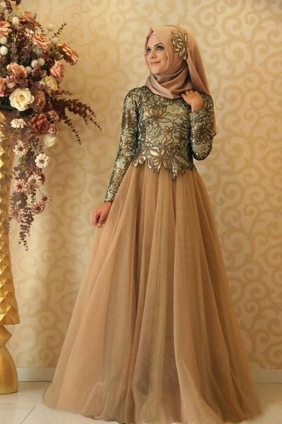 ... gaun pesta muslimah ini sudah nampak anggun dan menawan. source   https   id.pinterest.com ba9187827d