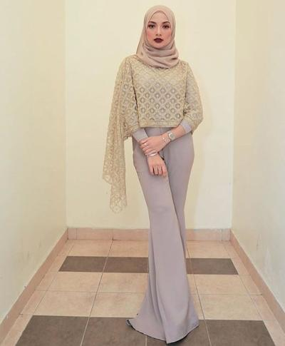 Inspirasi Model Kebaya Cape Hijab