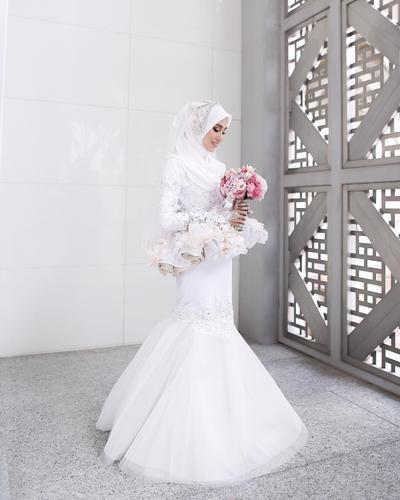 Mencari Inspirasi Kebaya Pernikahan Muslimah Ini Pilihan Model Yang