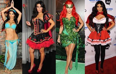 Masih Enggak Bisa Move On dari Halloween, Intip Gaya Kim Kardashian dari Tahun ke Tahun Ini!