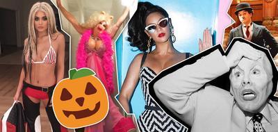 Dari Seram Hingga Unik, Style Make Up Halloween Selebriti Hollywood Ini Patut Dipuji