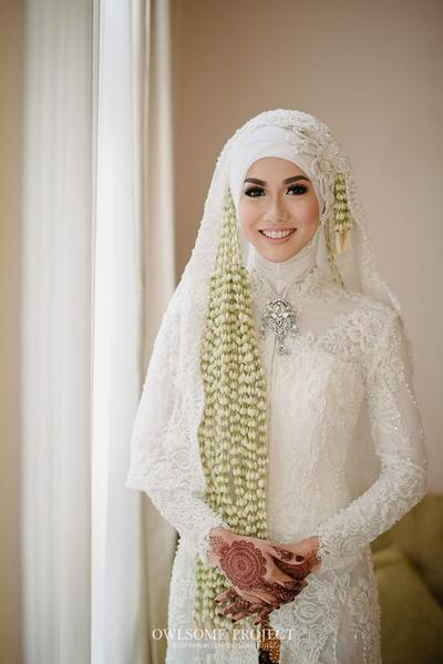 5 Inspirasi Baju Pengantin Adat Jawa Hijab Modern Ini Sangat Cantik