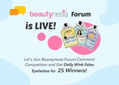 Beautynesia Forum Comment Competition Winner Announcement