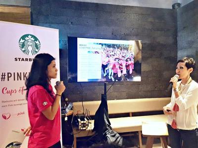 Peduli Akan Kanker Payudara, Starbucks Ikut Mendukung Melalui Pink Drinks #PINKVOICE