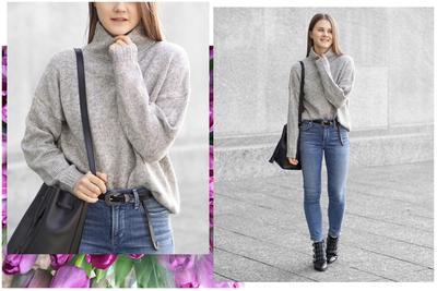 Mix and Match dengan Sweater