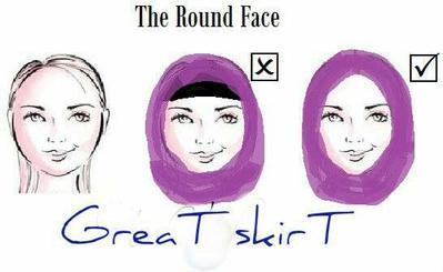 Punya Wajah Bulat  Trik Model Hijab Ini Paling Tepat untuk Kamu Coba Supaya  Terlihat Tirus 9b166be550