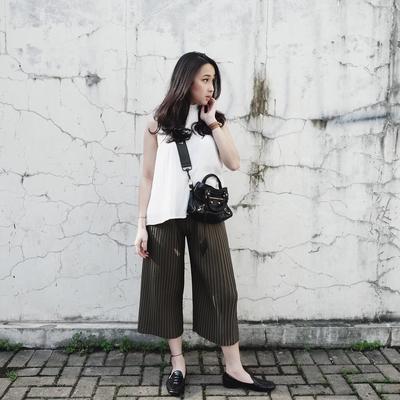 Mengintip Fashion Style Agatha Pricilla, Kece untuk Hangout Atau ke Kampus!