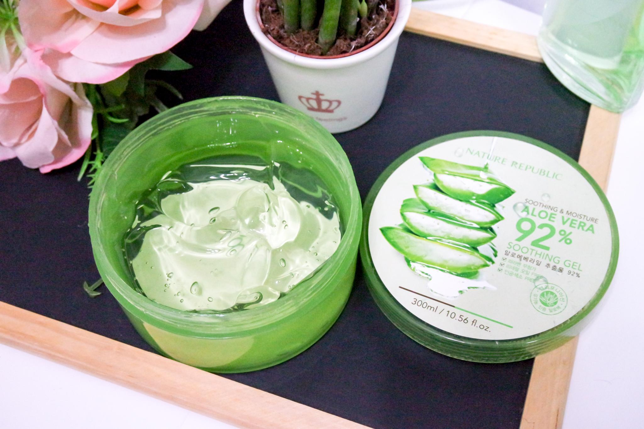 Ini 8 Cara Unik Penggunaan Nature Republic Aloe Vera Lainnya Selain Jadi Pelembap Wajah Body&Skincare