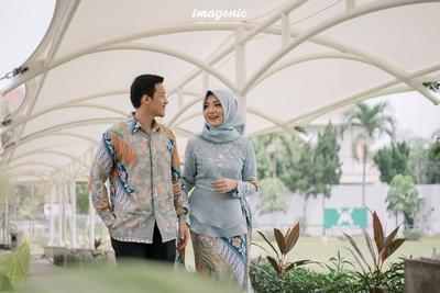 4 Model Kebaya Muslim Couple Kekinian Yang Bisa Kamu Pakai Dengan Si