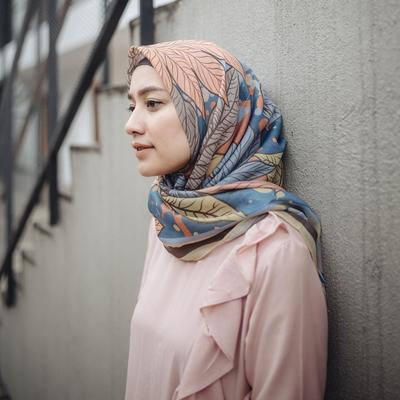 Hijab Bahan Voal Polos 29