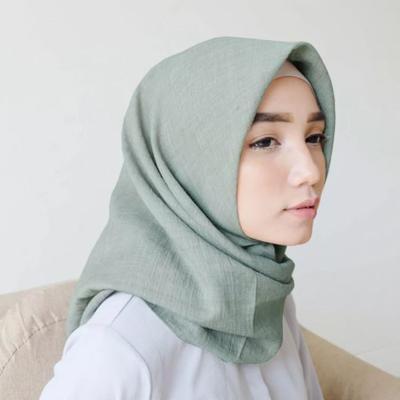 Hijab Bahan Voal Polos 12
