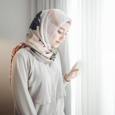 Hijab Bahan Voal Polos 74