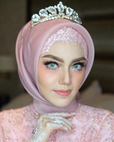5. Hijab Organza