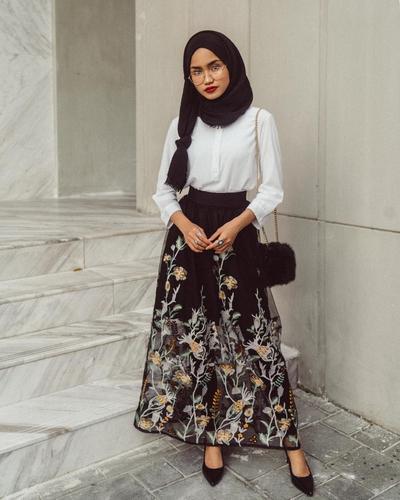 gorgeous outfit hijab untuk nonton konser 12