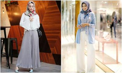 Hijabers, Kamu Lebih Pilih Celana Kulot atau Celana Plisket?