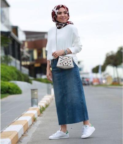 Saatnya Tampil Modis Dengan Style Hijab Modern Menggunakan Padu