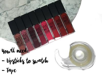 Mau Tahu Trik Foto Swatch Kosmetik yang Rapi dan Nyata Warnanya? Ini Rahasianya!