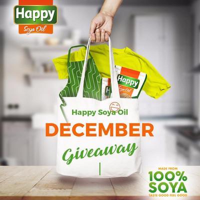 [December Giveaway!] Ketahui Solusi Sehat Memasak dan Dapatkan Bingkisan Menarik dari Happy Soya Oil untuk 200 Peserta Beruntung!