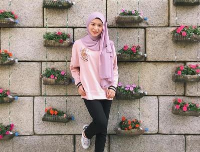 Style Hijab Ala Wanita Korea   Pilihana Sehari Hari Hijabers