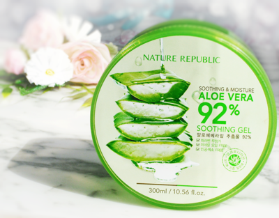 Nature Republic Aloe Vera Gel, Beneran Bisa Membantu Lepas dari Krim Dokter?