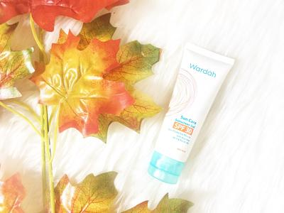 Wardah Sunscreen Gel SPF 30 Recommended Gak Sih Ladies?