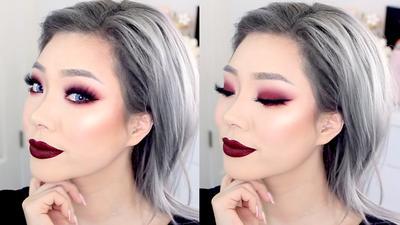 Untuk Look yang Berbeda, Coba Pakai Eyeshadow Warna Merah di Natal Tahun Ini yuk!