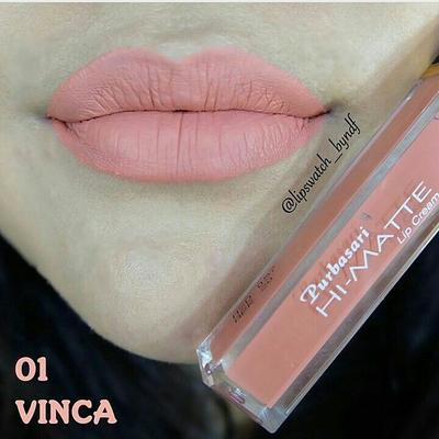 Purbasari Hi-Matte Lip Cream No. 01 Vinca