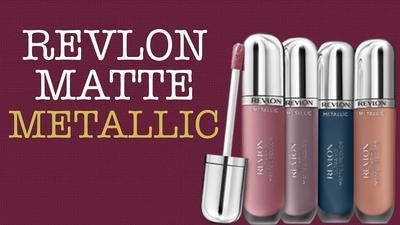 Ada yang sudah coba Revlon UItra HD Matte Lipcolor yang Metallic Finish? Warna Apa Yang Paling Kece?