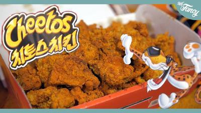 Gokil! Ayam goreng Korea ini punya rasa Cheetos lho!