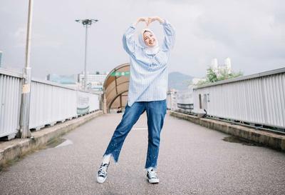 Hijabers Begini Cara Padu Padan Hijab Dan Jeans Kekinian Ala