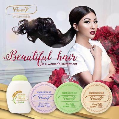 Ada yang sudah coba produk hair treatment Flavere by Sarwendah? Oke gak?
