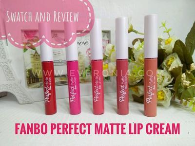Pernah Coba Fanbo Lip Cream?